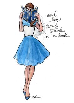 Fashion Illustration Art Print: Modern Day Belle by AThingCreated on Etsy https://www.etsy.com/listing/221407598/fashion-illustration-art-print-modern
