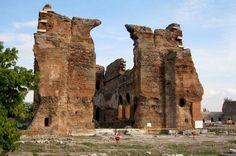Die Rote Basilika von Pergamon