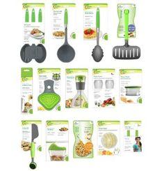 Jokari Healthy Steps Portion Control Diet / Weight Loss 20pc Utensil Kitchen Tool Set    $89.95