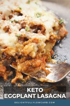 This Keto Eggplant Lasagna has all the delicious lasagna flavors you love without the noodles. Turn this beloved dish into a low-carb version you can enjoy anytime without the guilt. | Keto Recipe | Low Carb Recipe | Lasagna Recipe | #recipe #keto #lowcarb Best Low Carb Recipes, Keto Recipes, Healthy Recipes, Good Or Well, Eggplant Lasagna, Recipe Creator, Low Carb Breakfast, Tomato Paste, How To Dry Oregano