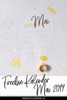 Diy Choker, Mai, Blog, Calendar, Printables, Patio, 2019 Calendar, Calendar To Print, Freckles