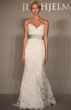 Jim Hjelm lace wedding dress... At this point I am pinning all wedding dresses..looove!