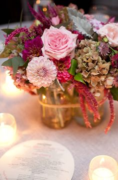 Fall Floral inspiration Photo by Holly Chapple Flowers - http://thefullbouquetblog.com/