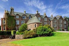 Last spring, tennis star Andy Murray opened Cromlix in Perthshire, Scotland, just three miles from his hometown of Dunblane