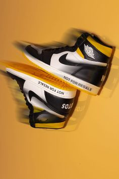"""In some cases, listening to instructions is overrated. Would you obey the cheeky directions written on the Air Jordan 1 High """"Not For Resale"""" if you owned the shoe? Jordan 3, Air Jordans, Air Jordan"""
