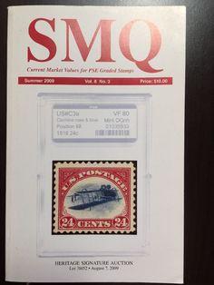 SMQ Stamp Market Quarterly Guide Book PSE Graded Stamps Vol 8 No.3 Summer 2009
