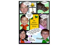 A Christmas Story Family Photo Christmas Card - Fun Unique Funny Digital Printable