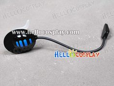 Vocaloid Cosplay Kaito Black Blue Headphone--Rani