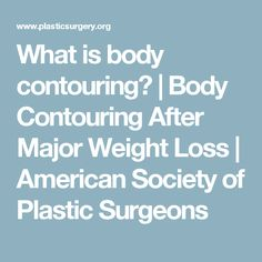 What is body contour