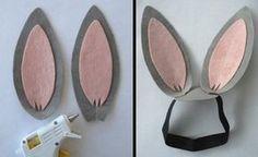 cómo hacer un disfraz de conejo casero