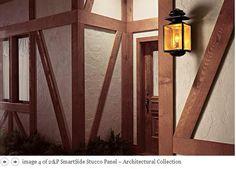 Pinterest the world s catalog of ideas for Tudor siding panels