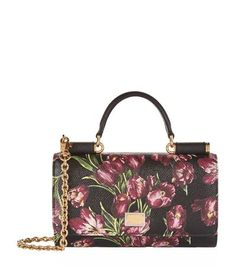 DOLCE   GABBANA Dauphine Tulip Gloss Phone Bag.  dolcegabbana  bags   leather  accessories  shoulder bags  wallet  phone case  charm  hand bags   27d1d4344f491