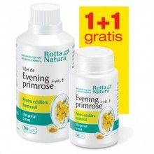 Evening Primrose+Vitamina E, 90cps+30cps Gratis
