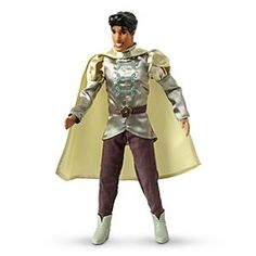 Disney Prince Naveen Classic Doll - The Princess and the Frog - 12'' H | Disney StorePrince Naveen Classic Doll - The Princess and the Frog - 12'' H - Cook up a fairytale with our <i>The Princess and the Frog</i> Prince Naveen Doll. Having been turned back from a frog into the handsome Prince with his elegant costume, Naveen is set to make his southern belle Tiana's dreams come true.