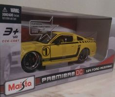 Maisto Ford Mustang 1:24 Scale premiere DC Diecast Car. New in box