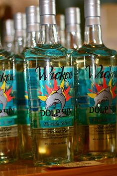 Wicked Dolphin Rum Distillery in Cape Coral - near Fort Myers, Florida. Tours are available Tuesdays, Thursdays and Saturdays.