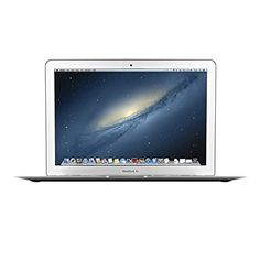 """Apple MacBook Air 13.3-Inch Laptop MD760LL/B, 1.4 GHz Intel i5 Dual Core Processor (Certified Refurbished) - Powerful, portable, and practical, the MacBook Air 13.3"""" MD760LL/B is the ideal notebook for students, professionals, and enthusiasts alike. Featuring an impressive 1.4 GHz Intel Core i5 processor, 4GB 1600MHz LPDDR3 SDRAM, Intel HD Graphics 5000, and 128GB SSD, this MacBook is equipped to handle..."""