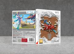 The legend of Zelda: Skyward Sword- Stone City Wii Box Art Cover by Javi