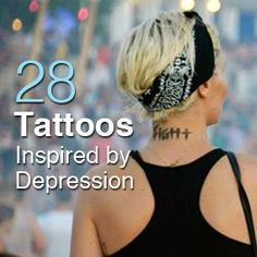 28 Tattoos Inspired by Depression