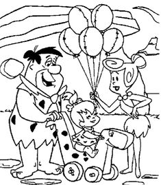 114 Best The Flintstones Coloring Pages Images Coloring Book
