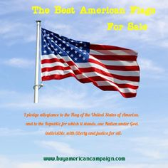 When looking to buy an American flag, the first thing to do is make sure it is made here in America by Americans. Check out American flags for sale here . American Flags For Sale, American Manufacturing, Pledge Of Allegiance, Things To Do, Good Things, Time Clock, Looking To Buy, The Republic, First Nations