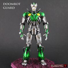 Custom Doombot Marvel Legends action figure