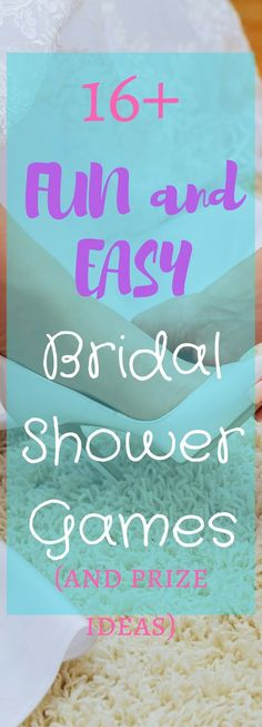 There are a couple fun bridal shower games on here.
