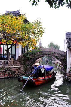 The Venice of the East, Zhouzhuang in Jiangsu province, China