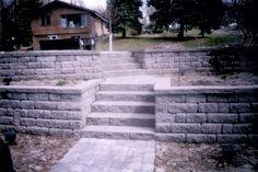 Use ledge for dutch oven cooking surface Retaining Wall Steps, Retaining Wall Design, Patio Ideas, Outdoor Ideas, Backyard Ideas, Outdoor Spaces, Outdoor Decor, Garden Ideas, Backyard Landscaping