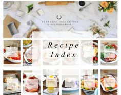 Jenny Steffens Hobick: A Barefoot Contessa Dinner Party. with tiny photos Pecan Cinnamon Rolls, Molten Cake, Easter Bunny Cake, Apple Season, Icing Colors, Caramel, Chicken Piccata, Donut Recipes, Love Cake