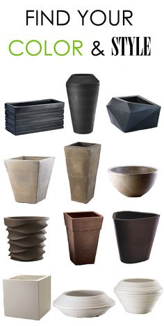 Tall, short, textured or smooth, Urbilis.com offers a variety of shapes, sizes and materials when it comes to modern patio planters! Find the architectural planter you've been searching for to complete your project or residential space. Browse endless color options, too!