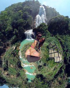Vacation picture spam time!  . . El Chiflón waterfalls Chiapas MX June 2018 . . #Chiapas #chiflon #cascada #waterfall #mexicomagico #mexicomaravilloso #ricoh #theta #thetas #gratitude #vacationtime #travel #photography #travelphotography #360 #360panorama #360photography #travelpic #AlexKrotkov #Mexico