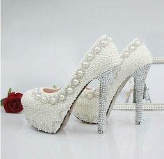 Pearl heels