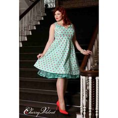 PRE-ORDER - Danielle Dress (Retro Stars) $234.00 http://www.curvyclothing.com.au/index.php?route=product/product&path=95_151&product_id=10792&limit=100