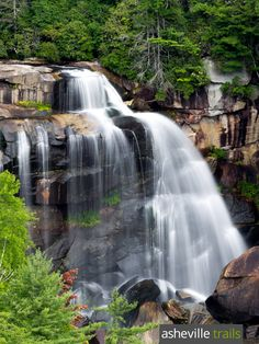 Top NC waterfall hikes: Whitewater Falls cascades over a 400-foot tall cliff