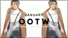 JANUARY Outfits of the Week | Fashion Lookbook Winter to Spring Transitional OOTW | Miss Louie - YouTube