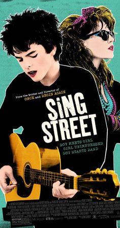 Cartel de Sing Street (John Carney, 2016, Irlanda, Reino Unido & EE.UU.)