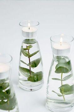 New wedding centerpieces simple diy tea lights ideas #wedding #diy