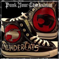 Thundercats Custom Converse Sneakers