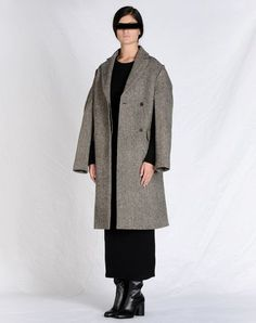 Martin Martiela Coat that is also a cape, clever!