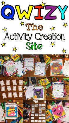 Need fun and engaging math activities for your math classroom? Qwizy has BINGO games, Memory, Matching Games, Pixel Arts, and more. Math Bingo, Bingo Games, Math Games, Math Activities, Math Classroom, Classroom Ideas, Primary Maths Games, Memory Games, Elementary Math