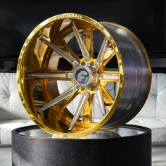 Gambe-1 ( terra) Rims For Cars, Rims And Tires, Wheels And Tires, Car Rims, Ram Accessories, Aftermarket Rims, Porsche, Gold Wheels, Truck Wheels