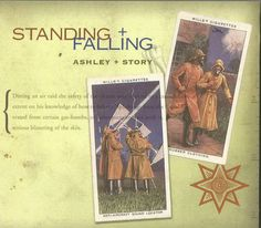 1 CENT CD: Standing and Falling by Ashley + Story (2005 Audio & Video Labs) RARE