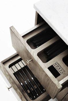 vosgesparis: Unique kitchen and home design by KBH Københavns Møbelsnedkeri #kitchendesign #cabinetmakers #kitchendrawers