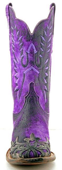 purple haute-couture boots - Google Search