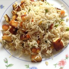 Ingredients : For Paneer : Paneer - kg Chilly powder - 1 tsp Coriander powder - 1 tsp Pepper powder - tsp Cumin po. Pepper Powder, Coriander Powder, Fried Rice, Fries, Chinese, Stuffed Peppers, Food, Kitchens, Stuffed Pepper