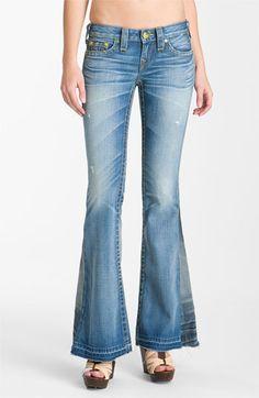 True Religion Brand Jeans 'Bobby' Flare Leg Jeans (Arlington) available at #Nordstrom