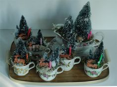 Kerst decoratie Bottle Brush Trees, Cake, Desserts, Christmas, Food, Manualidades, Pie Cake, Pastel, Postres