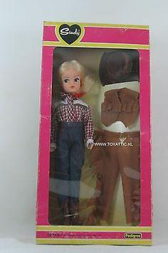 Sindy (Barbie sized) doll western world cowboy made by Pedigree NRFB
