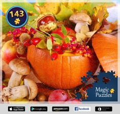I've just solved this puzzle in the Magic Jigsaw Puzzles app for iPad. Image Storage, Ipad, Pumpkin, Jigsaw Puzzles, Magic, Puzzle Board, Pictures, Puzzles, Photos
